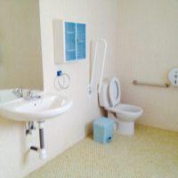 cuarto de baño adaptados